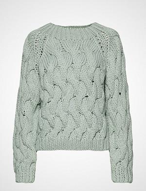 POSTYR genser, Posbonnie Knit Strikket Genser Blå POSTYR