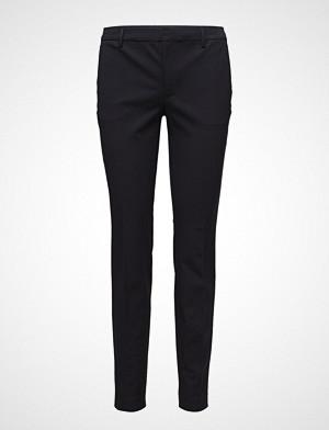 Filippa K bukse, Sophia Cotton Stretch Trousers Bukser Med Rette Ben Svart FILIPPA K