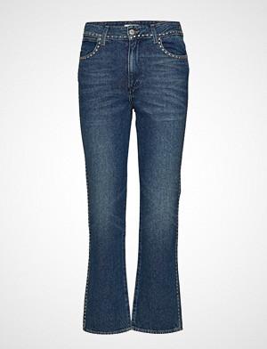 Wrangler bukse, Retro Straight Jeans Sleng Blå WRANGLER