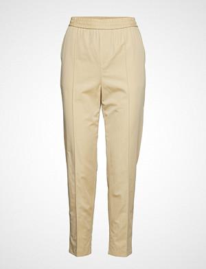 Filippa K bukse, Fiona Summer Trouser Bukser Med Rette Ben Beige FILIPPA K