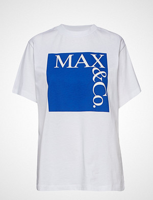 Max & Co. T-skjorte, Tee T-shirts & Tops Short-sleeved Hvit MAX&CO.