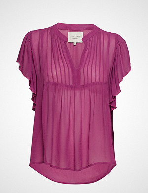 Lollys Laundry bluse, Isabel Top Bluse Ermeløs Lilla LOLLYS LAUNDRY
