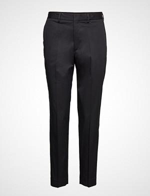 Filippa K bukse, Emma Cotton Trouser Bukser Med Rette Ben Svart FILIPPA K