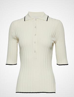 Dagmar T-skjorte, Ella T-shirts & Tops Short-sleeved Creme DAGMAR