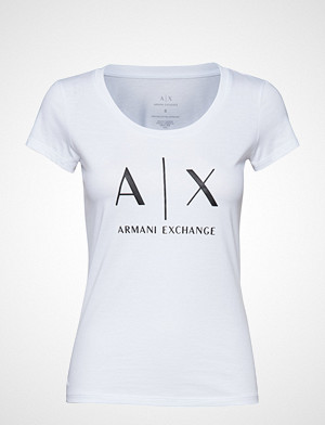 Armani Exchange T-skjorte, Ax Woman T-Shirt T-shirts & Tops Short-sleeved Hvit Armani Exchange