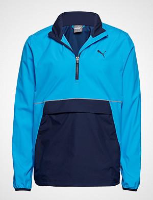 Puma Golf Retro Wind Jacket Outerwear Jackets Anoraks Blå PUMA Golf