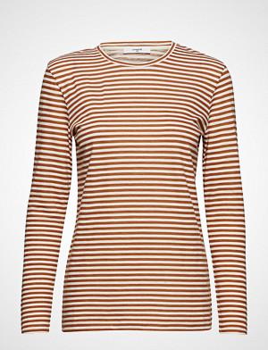 Lovechild 1979 T-skjorte, London T-Shirt T-shirts & Tops Long-sleeved Brun LOVECHILD 1979