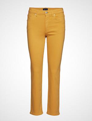Gant jeans, Slim Twill Jeans Skinny Jeans Gul GANT