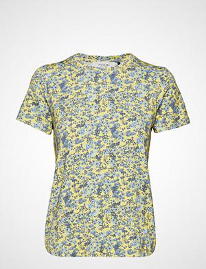 Pieszak T-skjorte, Louisa Tee T-shirts & Tops Short-sleeved Gul PIESZAK