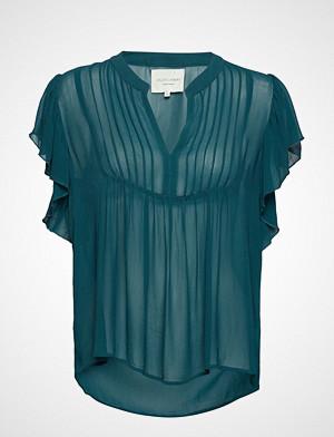 Lollys Laundry bluse, Isabel Top Bluse Ermeløs Grønn LOLLYS LAUNDRY