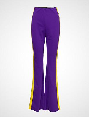 Ivyrevel bukse, Side Panel Flared Pants Vide Bukser Lilla IVYREVEL