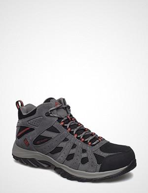 Columbia boots, Canyon Point™ Mid Waterproof Snørestøvletter Støvletter Svart COLUMBIA