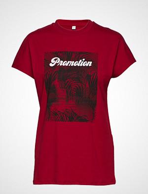 Won Hundred T-skjorte, Proof Print T-shirts & Tops Short-sleeved Rød WON HUNDRED