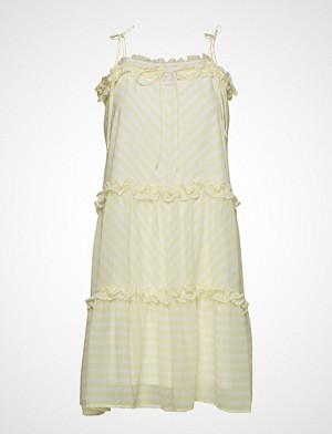 Lydia Flower Short Dress Kort Kjole Rosa NOTES DU NORD