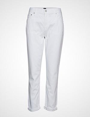 GAP bukse, Lt Wt Gf Optic White Bukser Med Rette Ben Hvit GAP