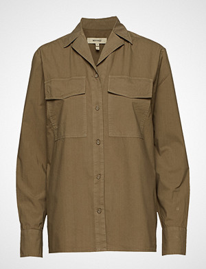 Whyred skjorte, Amaury Langermet Skjorte Beige WHYRED