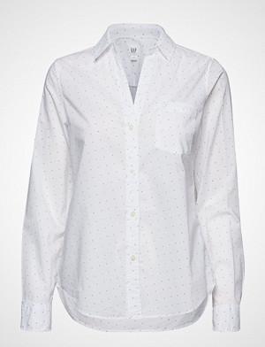 GAP skjorte, Fitted Bf Shirt Langermet Skjorte Hvit GAP