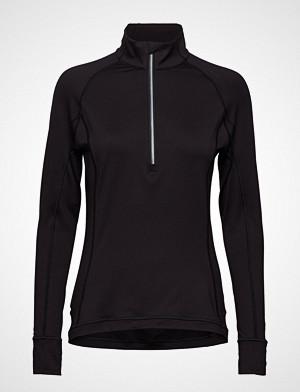 Puma Golf T-skjorte, W Rotation 1/4 Zip T-shirts & Tops Long-sleeved Svart PUMA GOLF