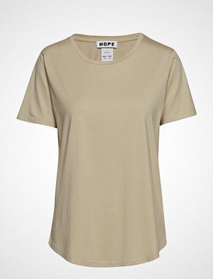 Hope T-skjorte, Tee T-shirts & Tops Short-sleeved Beige HOPE