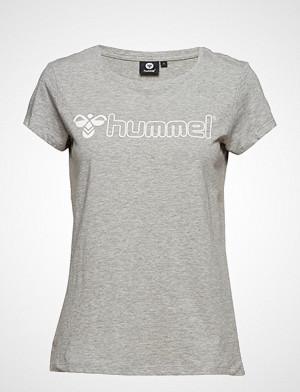 Hummel T-skjorte, Hmllucy T-Shirt S/S T-shirts & Tops Short-sleeved Grå HUMMEL