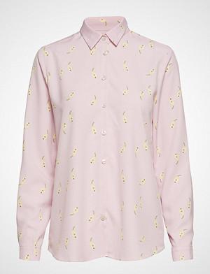 Whyred skjorte, Karolina Pear Print Langermet Skjorte Rosa WHYRED
