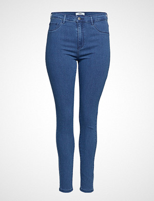 Only Carmakoma jeans, Carstorm Push Up Hw Sk Jeans Mbd Noos Skinny Jeans Blå ONLY CARMAKOMA