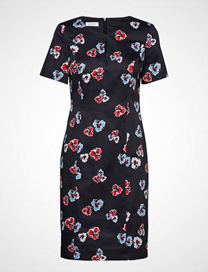 Gerry Weber kjole, Dress Woven Fabric Knelang Kjole Blå GERRY WEBER
