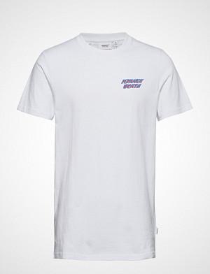 WESC Max Vacation T shirts Short sleeved Blå WESC