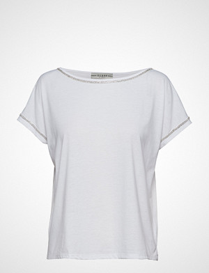 GUESS Jeans T-skjorte, Fanny Top T-shirts & Tops Short-sleeved Hvit GUESS JEANS