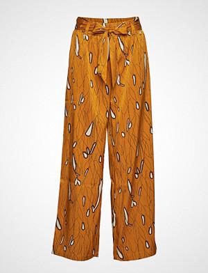 Yas bukse, Yastoulon Mw Wide Pants Vip Vide Bukser Oransje YAS