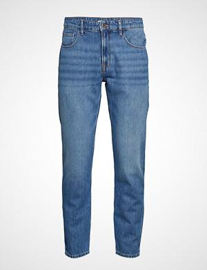 Mango Man collegegenser, Tapered Fit Medium Wash Soft Jeans Slim Jeans Blå MANGO MAN