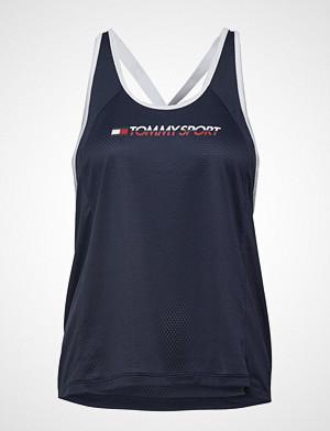 Tommy Sport singlet, Flag Tape Tank Top T-shirts & Tops Sleeveless Blå TOMMY SPORT