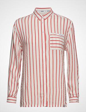 Superdry skjorte, Devan Shirt Langermet Skjorte Rød SUPERDRY