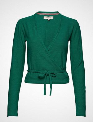 Noa Noa T-skjorte, Wrap T-shirts & Tops Long-sleeved Grønn Noa Noa
