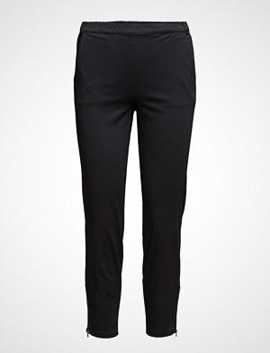 Masai bukse, Padme Trousers Ew Basic Bukser Med Rette Ben Svart MASAI