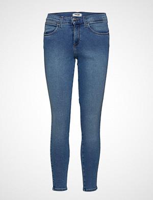 Wrangler jeans, High Rise Skinny Skinny Jeans Blå WRANGLER