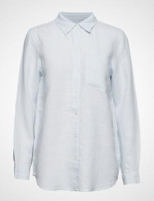 GAP skjorte, Bf Shrt Lin Yd Langermet Skjorte Blå GAP