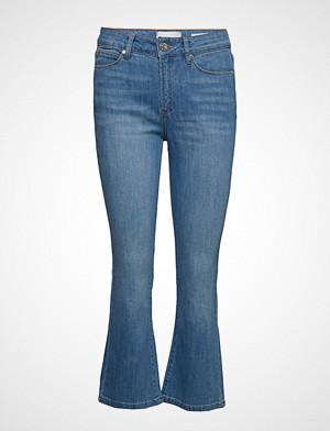 Tomorrow bukse, Malcolm Kick Flare Wash London Jeans Sleng Blå TOMORROW