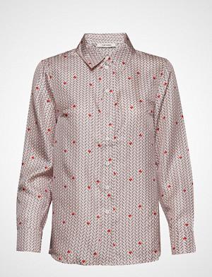 nué notes skjorte, Rosie Shirt Langermet Skjorte Rød NUÉ NOTES