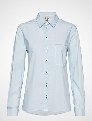 Twist & Tango skjorte, Dani Shirt Cold Blue Langermet Skjorte Blå TWIST & TANGO
