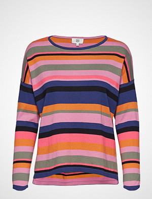 Noa Noa T-skjorte, Blouse T-shirts & Tops Long-sleeved Multi/mønstret NOA NOA