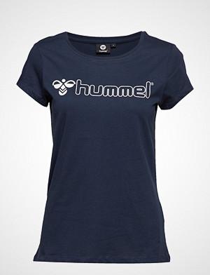 Hummel T-skjorte, Hmllucy T-Shirt S/S T-shirts & Tops Short-sleeved Blå HUMMEL