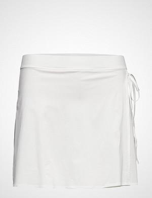 Filippa K Soft Sport skjørt, Flex Wrap Skirt Kort Skjørt Hvit FILIPPA K SOFT SPORT