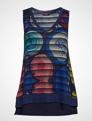 Desigual singlet, Ts Mineral T-shirts & Tops Sleeveless Multi/mønstret DESIGUAL
