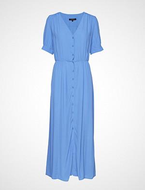 Soft Rebels kjole, Karlin Button Dress Maxikjole Festkjole Blå SOFT REBELS