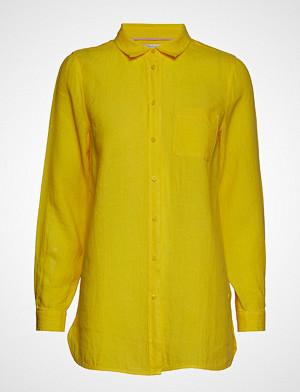 Part Two skjorte, Kiva Sh Langermet Skjorte Gul PART TWO
