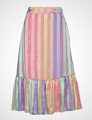 Stine Goya skjørt, Leandra, 570 Printed Poly Langt Skjørt Multi/mønstret STINE GOYA