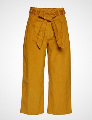 Lollys Laundry bukse, Aila Pants Vide Bukser Gul LOLLYS LAUNDRY