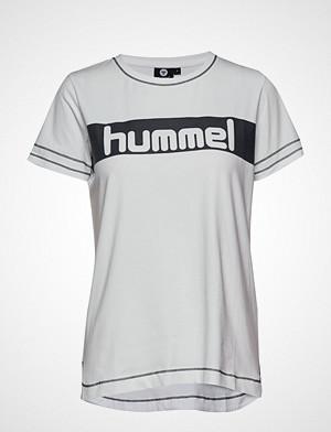 Hummel T-skjorte, Hmlnatalie T-Shirt S/S T-shirts & Tops Short-sleeved Hvit Hummel