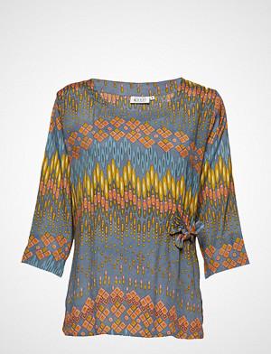 Masai bluse, Britt Top Bluse Langermet Blå MASAI